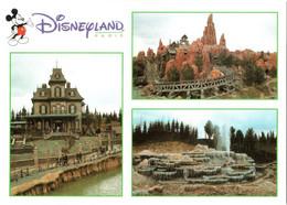 CPM 77 (Seine-et-Marne) Serris - EURODISNEY Disneyland Paris. Frontierland, Multivues TBE Au Val D'Europe - Disneyland