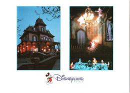 CPM 77 (Seine-et-Marne) Serris - EURODISNEY Disneyland Paris. La Maison Hantée, Multivues TBE Au Val D'Europe - Disneyland
