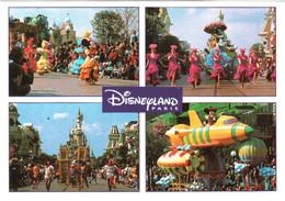 CPM 77 (Seine-et-Marne) Serris - EURODISNEY Disneyland Paris. La Parade, Multivues TBE Au Val D'Europe - Disneyland