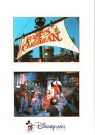CPM 77 (Seine-et-Marne) Serris - EURODISNEY Disneyland Paris. Les Pirates, Multivues TBE Au Val D'Europe - Disneyland