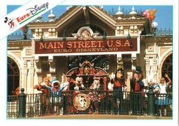 CPM 77 (Seine-et-Marne) Serris - EURODISNEY Disneyland Paris. Main Street Station TBE Au Val D'Europe - Disneyland