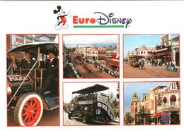 CPM 77 (Seine-et-Marne) Serris - EURODISNEY Disneyland Paris. Main Street, USA, Multivues TBE Au Val D'Europe - Disneyland