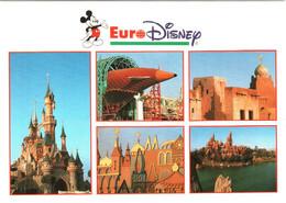 CPM 77 (Seine-et-Marne) Serris - EURODISNEY Disneyland Paris. Multivues TBE Au Val D'Europe - Disneyland