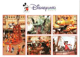 CPM 77 (Seine-et-Marne) Serris - EURODISNEY Disneyland Paris. PARADE, Multivues TBE Au Val D'Europe - Disneyland