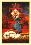 CPM 77 Serris - BUFFALO BILL'S WILD WEST SHOW. Annie Oakley TBE EURODISNEY Disneyland Paris Val D'Europe - Disneyland