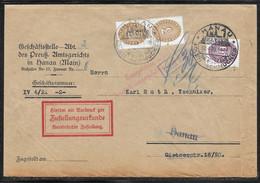 Germany - 1930 Official Cover - Hanau Pictorial Postmark - Dienstmarke - Servizio