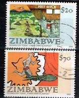 ZIMBABWE / Oblitérés / Used / 2002 - La Poste Et La Technologie D'aujourdhui - Zimbabwe (1980-...)