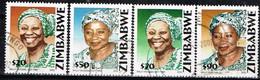 ZIMBABWE / Oblitérés / Used / 2002 - Portraits De Sally Mugabe - Zimbabwe (1980-...)