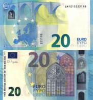 "SLOVAKIA (E), 20€, 2020, New Signature ""Christine Lagarde"", UNC - Slovacchia"