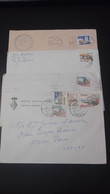 Portugal - 4 Cartas Circuladas - Paisagens E Monumentos - Covers & Documents