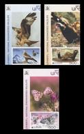 Armenia (Nagorno-Karabakh) 2021 Mih. 231B/33B Europa. Fauna. National Endangered Wildlife (with Labels) (imperf) MNH ** - Armenia