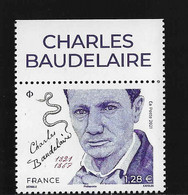 BA3  France 2021 ** Charles Beaudelaire ( Poet ) - Sin Clasificación