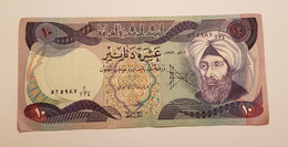 Billet De 10 Dinars Irak ~ 1982 ~ Iraq - 525987 ~P# 71 - Iraq