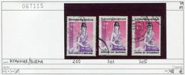 Burma - Birma - Myanmar - Michel 250 + 301 + 305 - Oo Oblit. Used Gebruikt - Myanmar (Burma 1948-...)