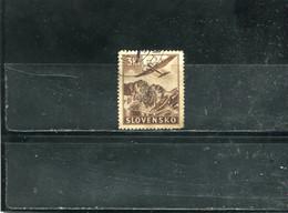 Slovaquie 1940 Yt 5 Timbres Pour La Poste Aérienne - Used Stamps