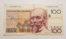Billet De 100 Francs Belges 1978 -1981 ~ BELGIQUE ~P# 140 - 100 Francs