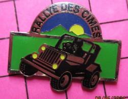 513i Pin's Pins / Beau Et Rare / THEME : SPORTS / AUTOMOBILE RALLYE DES CIMES JEEP - Rallye