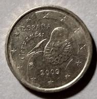 2009  - SPAGNA  - MONETA IN EURO - DEL VALORE DI 10  CENTESIMI - USATA - - Spanien