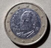 2011 - SPAGNA  - MONETA IN EURO - DEL VALORE DI 1,00  EURO - USATA - - Spanien