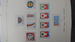 S198 Collection Du Brésil  Timbres Et Blocs ** En Reliure  SCHAUBECK De 1980 à 1999. A Saisir !!! - Collections (with Albums)