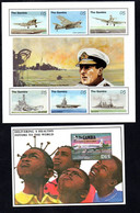 T1-10  Gambie N° 1841 à 1846 + BF88 **  A Saisir !!!  Avions - Gambia (1965-...)