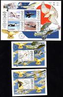 T1-11  Gambie N° 2728 à 2731 + BF 407 + BF 408 **  A Saisir !!!  Avions - Gambia (1965-...)