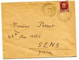 YONNE Dateur A4 Sans Millesime MIGENNES - GARE DE LA ROCHE  Sur Env. Pothion N°762 - Railway Post