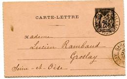 AVEYRON Dateur A 2 GARE DE MILLAU Sur Entier Sage De 1900. Pothion N°764 - Railway Post