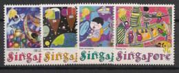 Singapore - 2000 - N°Yv. 962 à 965 - Dessins De Jeunes - Neuf Luxe ** / MNH / Postfrisch - Singapour (1959-...)