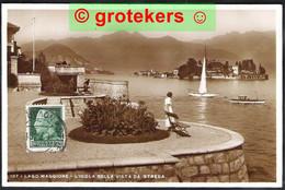 LAGO MAGGIORE L'Isola Bella Vista Da Stresa 1939 - Novara