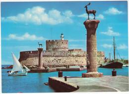 Rhodes: Stag - Light - House / Phare 'il Cervo'  - (Rodi - Rhodos - Greece) - Greece