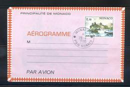 TIMBRES MONACO REF090521LI, Aérogramme Entier Postal Oblitéré N°504 - Airmail