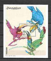 Somalia 2003 Birds - Toucan MS MNH - Somalie (1960-...)