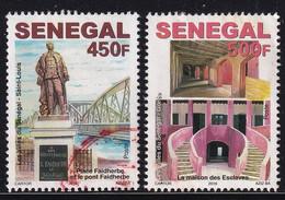 Senegal 2016, 450 And 500 Francs, Highest Values Set Vfu - Senegal (1960-...)