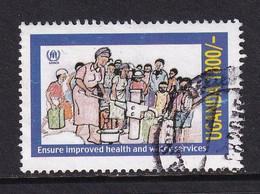 Uganda 2001, Health, Waterpump, Minr 2350 Vfu. Cv 3,50 Euro - Uganda (1962-...)
