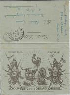 Carte Lettre Franchise Militaire - Altri