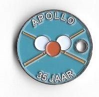 Jeton  De  Caddie  Néerlandais  APOLLO  35  JAAR - Jetons De Caddies