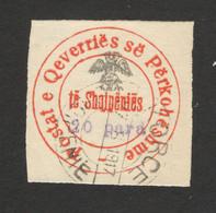 ALBANIA -  USED OLD STAMP,  20 Para - 1917. - Albania