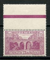MONACO 1925 N° 96 ** Neuf MNH  Superbe  Vue Viaduc - Unused Stamps
