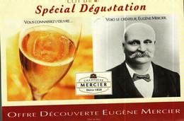 Autocollant  -      Eugène MERCIER   Champagne - Aufkleber