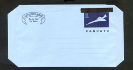 TIMBRES OCEANIE REF090521mi, Aérogramme VANUATU Non Oblitéré - Vanuatu (1980-...)