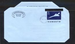 TIMBRES OCEANIE REF090521mi, Aérogramme VANUATU, Oblitéré 30/07/80 - Vanuatu (1980-...)