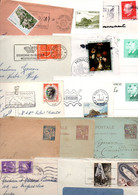 MONACO LOT DE LETTRES, CARTES ET ENTIERS - 370 GRAMMES - Lots & Kiloware (mixtures) - Max. 999 Stamps