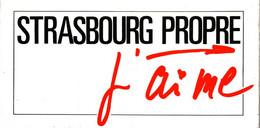 Autocollant  -       STRASBOURG Propre J'AIME - Alcohols