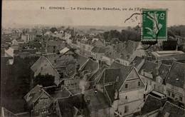 27-GISORS...LE FAUBOURG DE NEAUFLES..CPA - Gisors