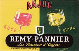 Buvard & Blotter -  Anjou, Vin  Rosé, Blanc - REMY PANNIER - Saint  Hilaire, Saint Florent (Maine Et Loire 49) - Unclassified