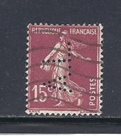 Y & T   N°  189  Perforé   A L  123  Ind  5 (26§07) - Gezähnt (Perforiert/Gezähnt)