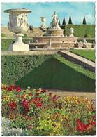 78 Château De Versailles  Parterres De Fleurs Et Le Bassin De Latone (Carte Vierge) - Versailles (Château)