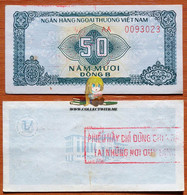 Vietnam 50 Dong 1987 AUNC Serie AA Р-FX2 (3) - Vietnam