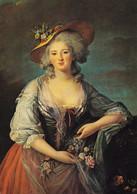 78 Versailles Elisabeth Vigée Lebrun Soeur De Louis XVI (Carte Vierge) - Versailles (Château)